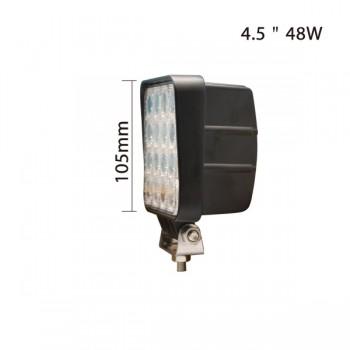 "Светодиодная фара 48W, 4,5"", дальний свет."