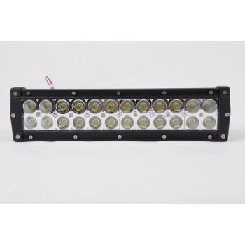 """LED балка двухрядная 72W, 13,5"""""""