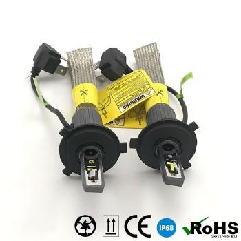 Комплект LED ламп головного света, A2-H4 дальний/ближний