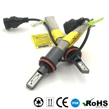 Комплект LED ламп головного света, A2-H8/11