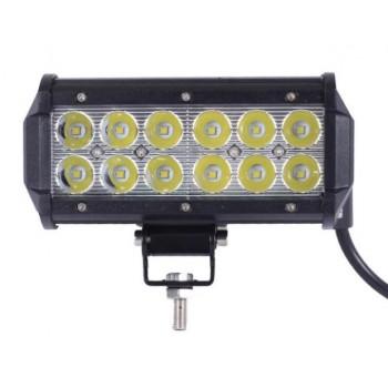 """Двухрядная LED фара 36W, 7,5"""""""