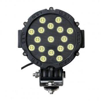 """LED фара, 51W, 6,3"""", дальний свет"""