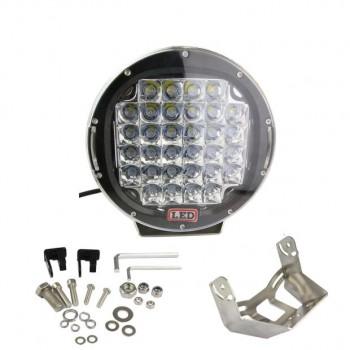 """LED фара, 96W, 9"""", дальний свет"""