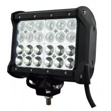 Четырехрядная светодиодная фара 72W, комбинированный свет
